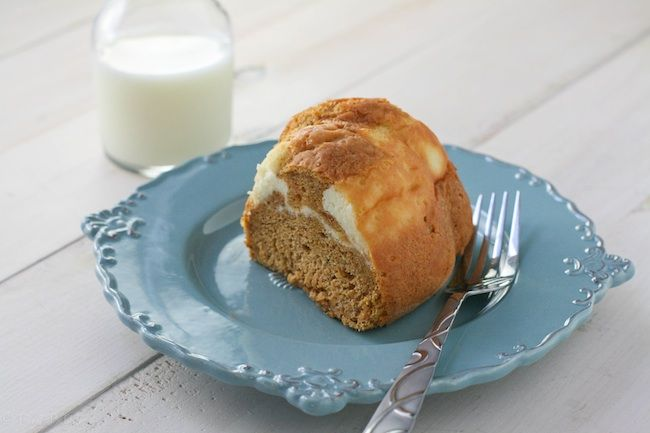 Cream Cheese Pumpkin Bundt Cake from @Kate Donahue ~ FoodBabbles