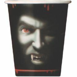 649 - Vampire Cups. Pack of 8 Cups Vampire (270ml) - Pack of 8