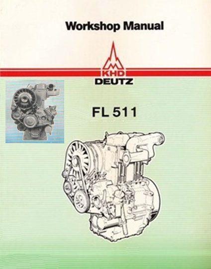 Details About Deutz F1l 511 F2l 511 Service Workshop Repair Manual Engine Motor Repair Cd