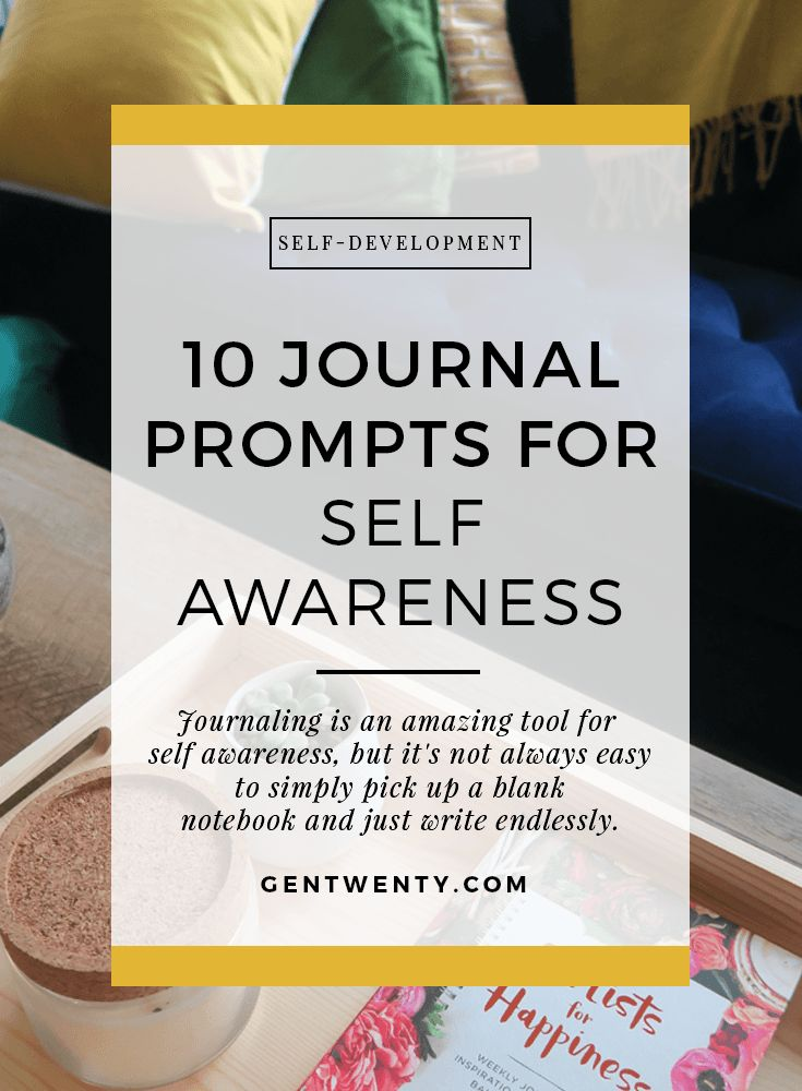 Journaling is a powerful tool for self-awareness.