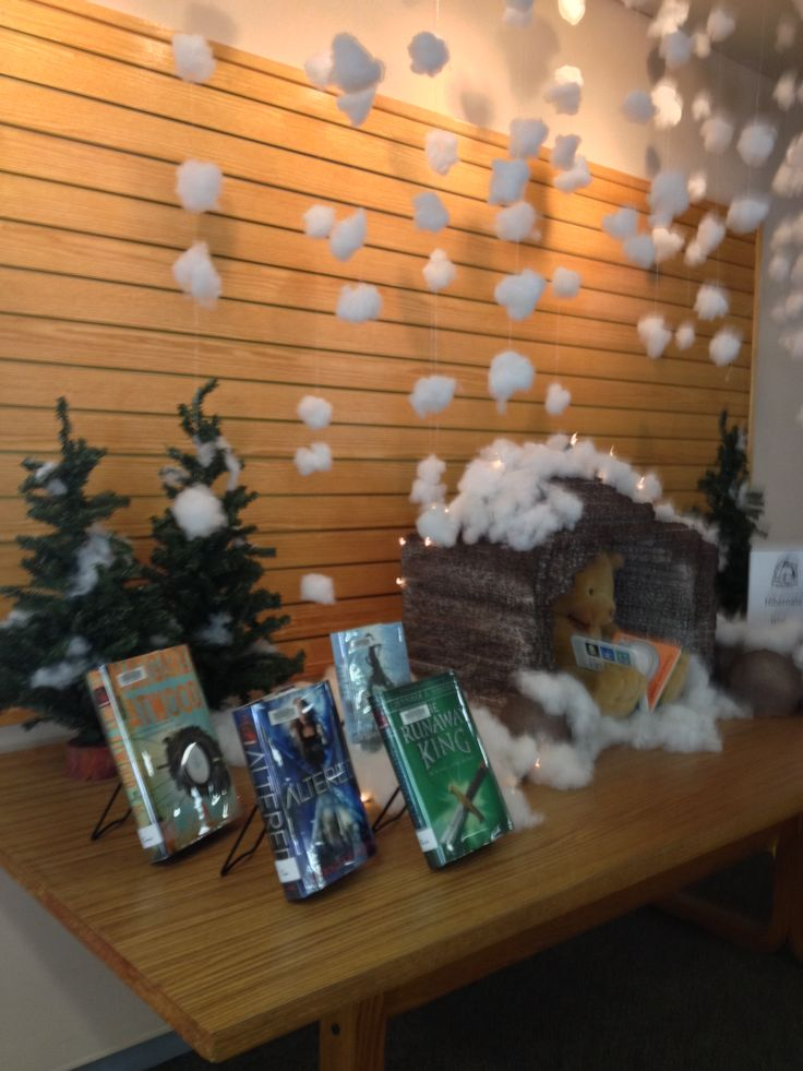 Best winter library displays images on pinterest