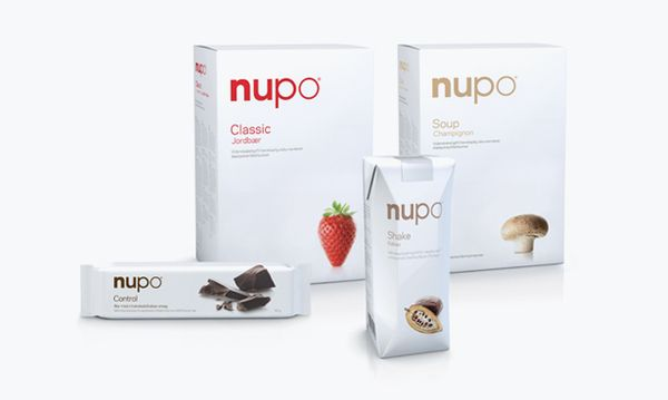 Version 1.0 of the new Nupo packaging design (2008).
