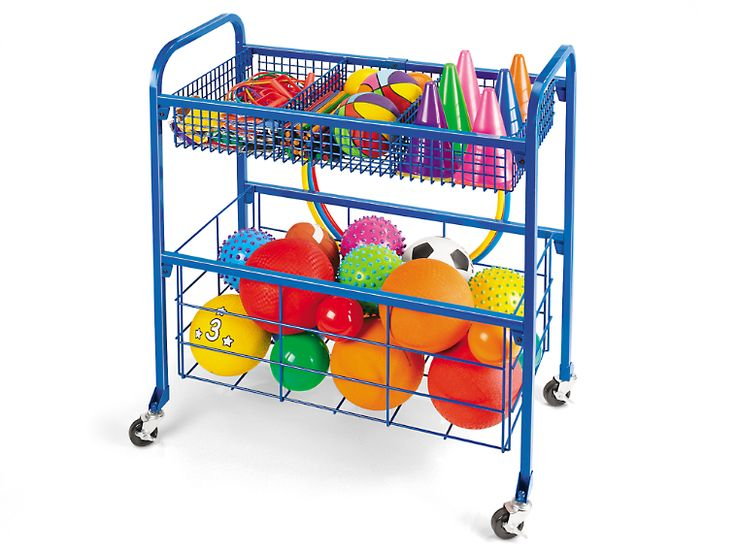 Lakeshore Indoor Outdoor Equipment Cart