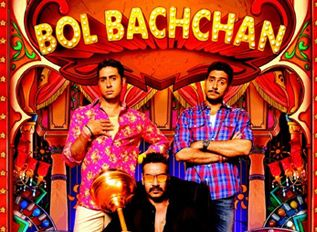 Bol Bachchan sees Abhishek in a new comic avatar!