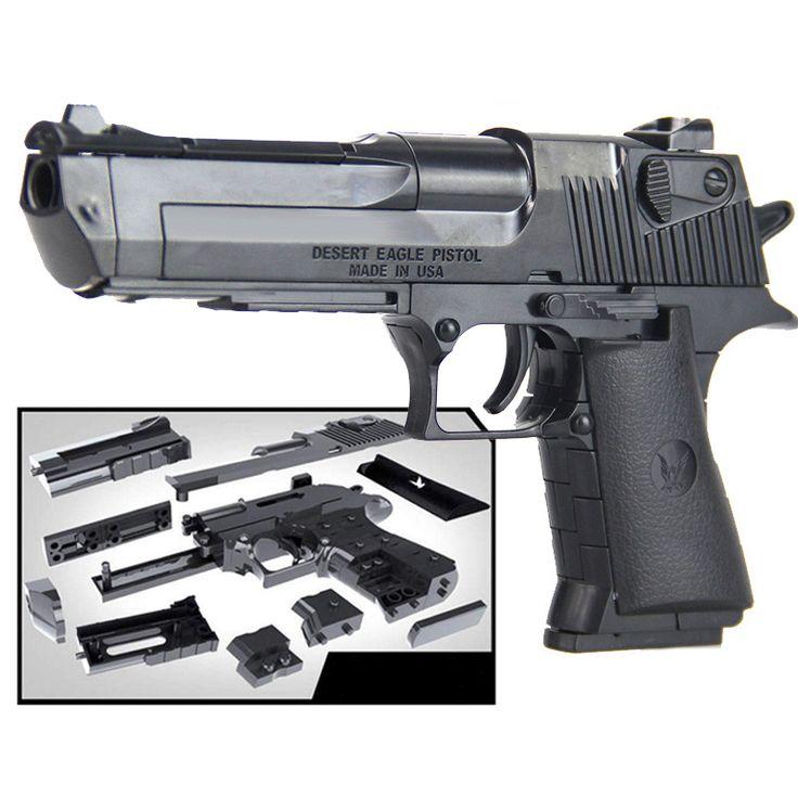 43 pcs Set 3D Tijolo Preto Pistola Modelo de Arma Pistola de Ar Bloco de Construção Compatível Brinquedos Meninos Com a Instrução em Armas de brinquedo de Brinquedos Hobbies & no AliExpress.com | Alibaba Group