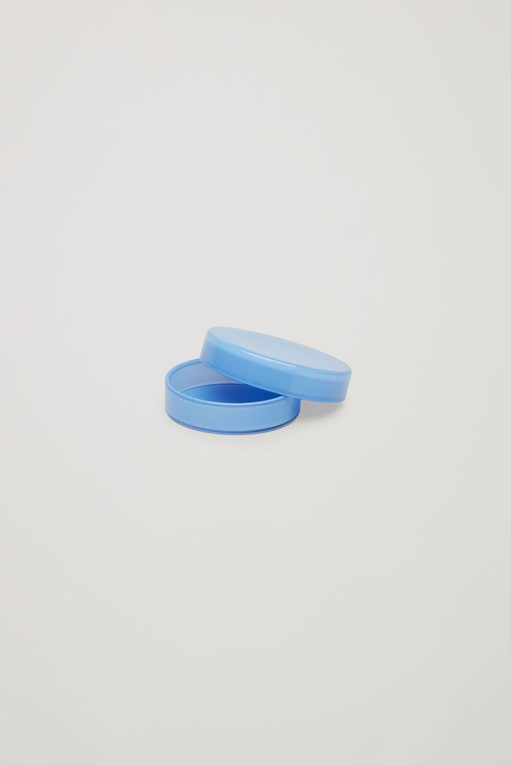 COS image 2 of HAY Bits & Bobs mini glass box in Sky Blue