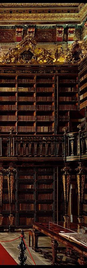 Joanina Library - Coimbra | Portugal