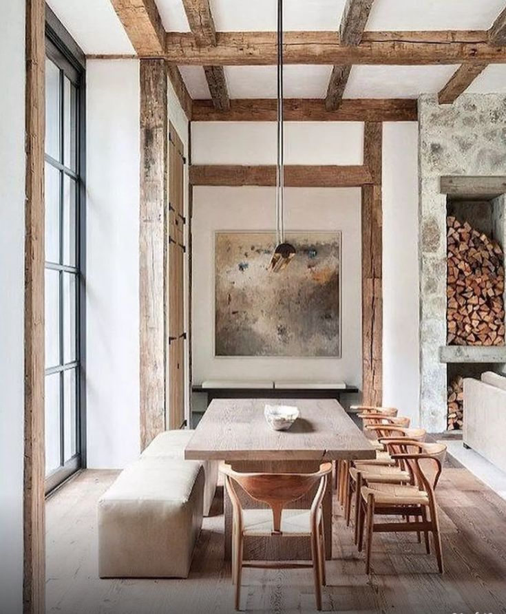 The 15 Most Beautiful Dining Rooms On Pinterest Sanctuary Home Decor In 2020 Beautiful Dining Rooms Modern Farmhouse Dining Modern Farmhouse Dining Room
