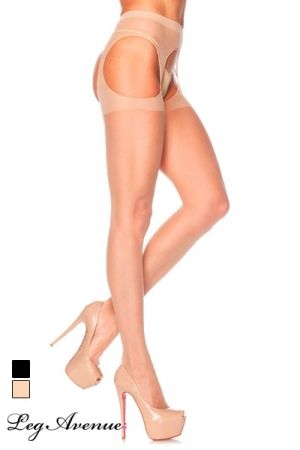 Collants Ouverts pour Travesti Leg Avenue Skin