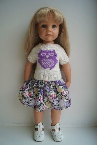 Костюмчики для кукол Гётц Gotz с совушками. / Одежда для кукол / Шопик. Продать купить куклу / Бэйбики. Куклы фото. Одежда для кукол