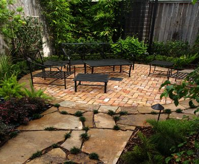 how to build a flagstone deck