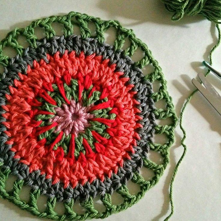 14 besten crochet wall art Bilder auf Pinterest | Mandalas ...