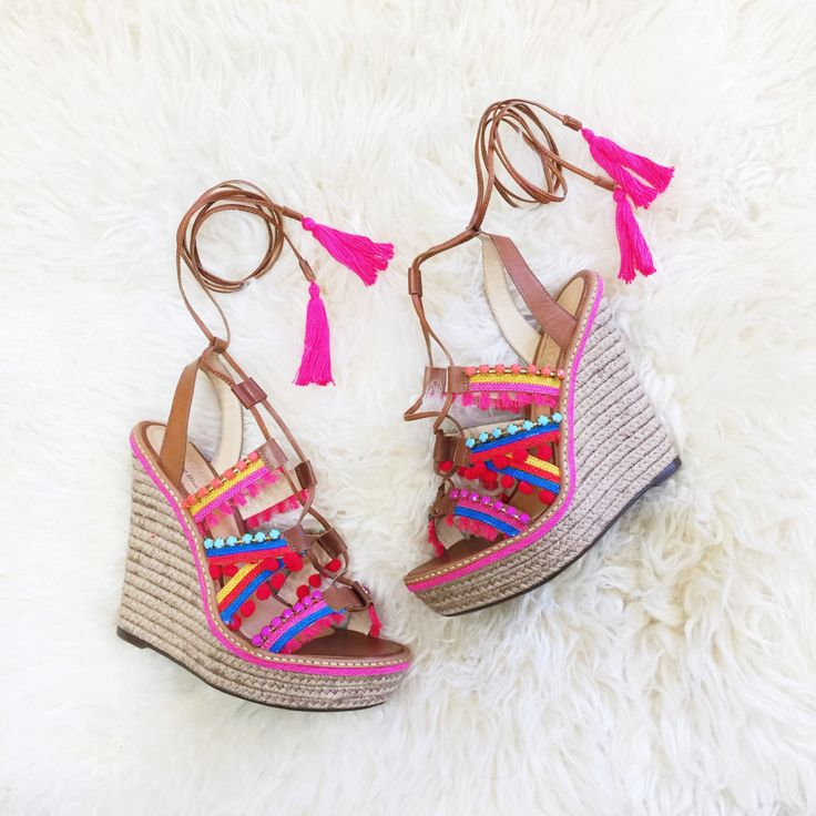 Best 25  Colorful wedges ideas on Pinterest | Mint wedges, Wedges ...