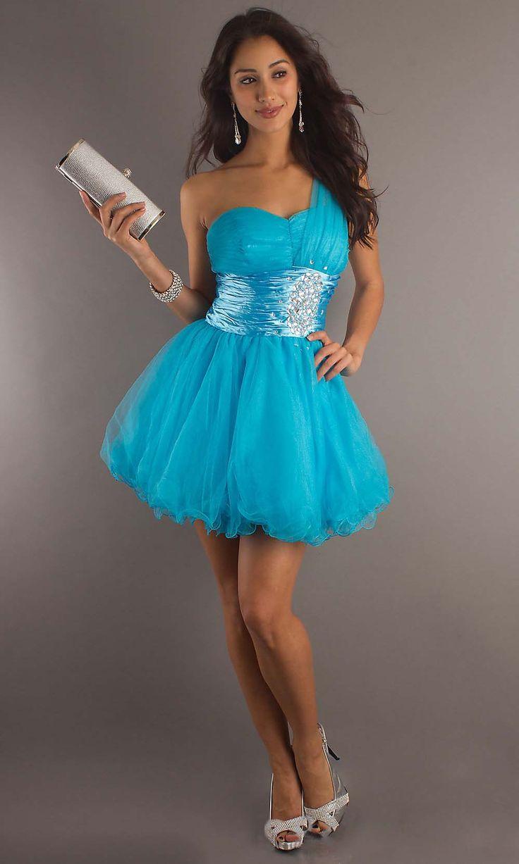 Popular new blue short prom dress cheap prom dresses sale