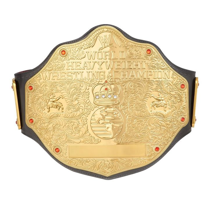 WCW World Heavyweight Championship Belt