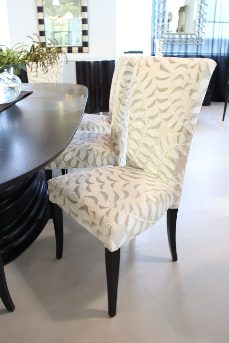 Bella Donna Dining Chair Made in Italy by Sedital, Edgar Dining Table Made in Italy by Opera Contemporary. Available at Sarsfield Brooke