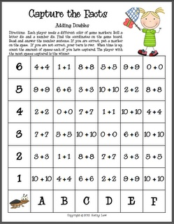 Current image for math fact fluency games printable