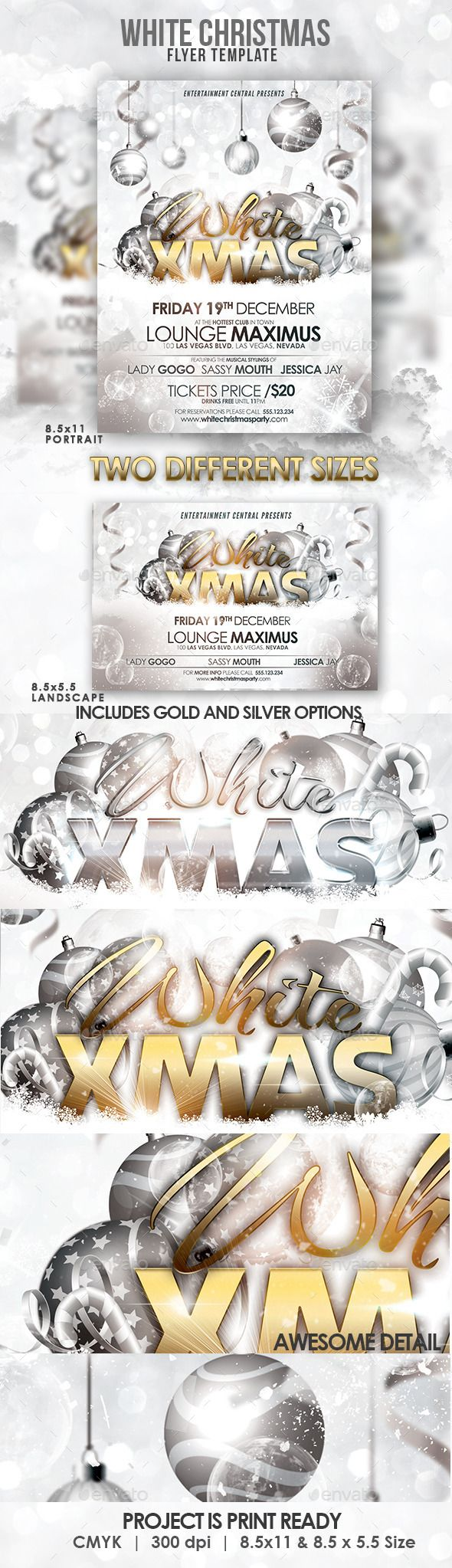 34 best Flyers templates images on Pinterest | Christmas parties ...