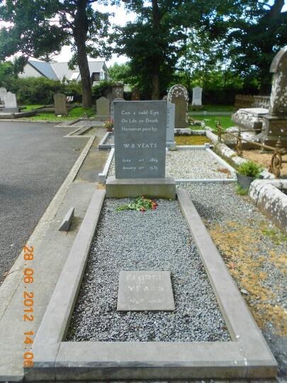 WB Yeats grave, Drumcliffe, Sligo