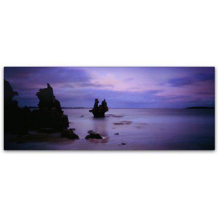 Trademark Fine Art Vivonne Bay-Kangaroo Island Canvas Art by David Evans, Size: 16 x 47, Multicolor