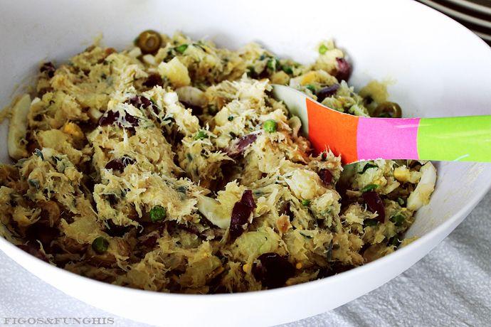 Salada de bacalhau do Brown