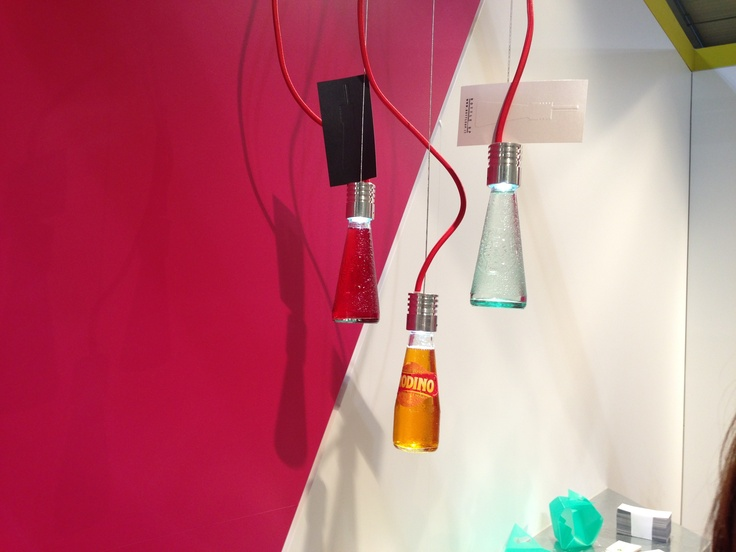 Campari / any other drink bottle / lamp