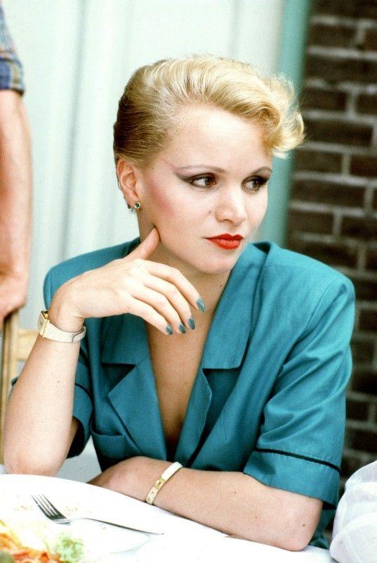 Renée Soutendijk (born: 21 May 1957, Den Haag, Netherlands) is a Dutch actress. She was a favorite star of director Paul Verhoeven. She is perhaps best known for her work in  Spetters (1980). She also acted in the movies Pastorale 1943 (1978), Een Vrouw Als Eva (1979), Het Meisje Met Het Rode Haar (1981), De Vierde Man (1983), De IJssalon (1985), Op Hoop Van Zegen (1986), Eve Of Destruction (1991) and many more. She is married to Thed Lenssen. Her daughter Caro Lenssen is also an actress.