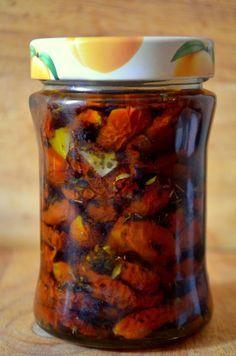 MY FOOD или проверено Лизой: Вяленые томаты и перцы (заготвки на зиму)