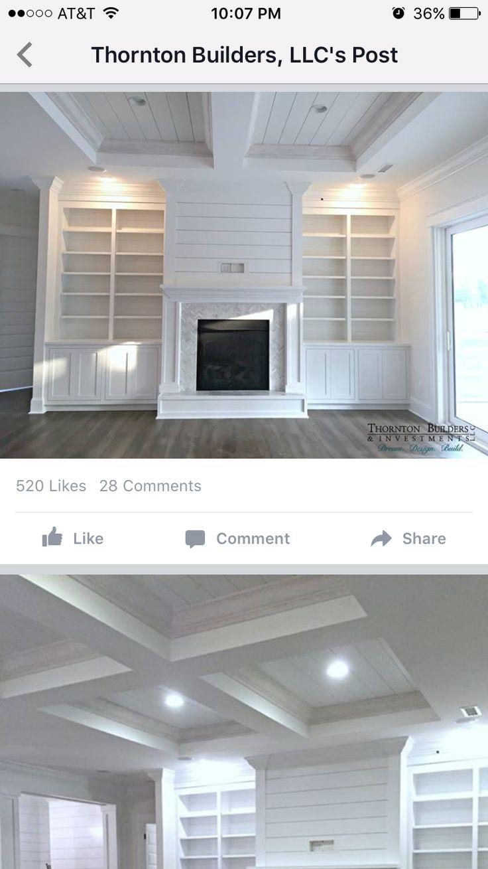The barndominium magnolia homes bloglovin - Fireplace