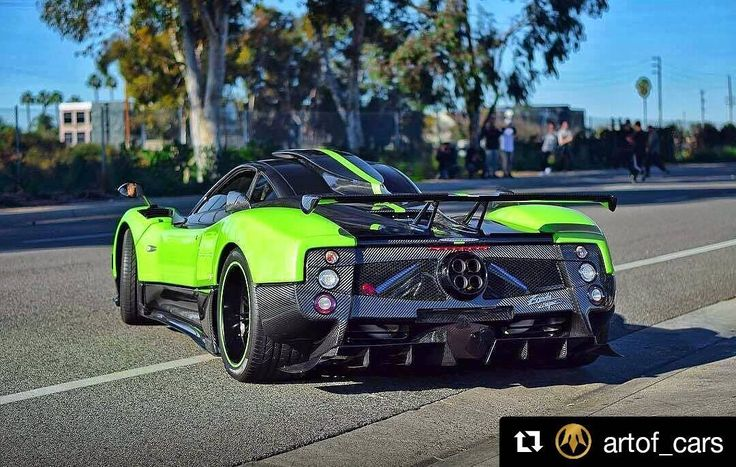 #Repost @artof_cars (@get_repost)  Game or reality Anyway I love this car And U  Pagani Zonda Cinque   Rate 1-10   Comment below  _________________________________________ Now also on Facebook! With other special content  Link in BIO      follow me    Who would not want it in the garage? |  Photography by owner # Tag your best photos with #artofcars and follow us to be feautured #pagani #zonda #needforspeed #awesome #badass #amazing #speed #carbon #carbonfiber #wheels #top #gear #musclecar…