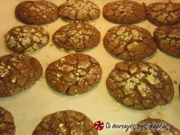 Σοκολατένια μπισκότα όνειρο #sintagespareas