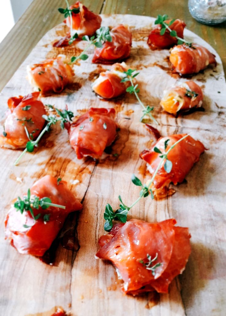 Apricot stuffed with blue cheese, wrapped in Parma ham and sprinkled with thyme, drizzled with caramelised honey  #personalchef #personalcook #personalchefs #personalchefservices #privatechef #privatecook #privatedining #somerset #somersetcook #somersetfood #somersetchef #somersetfoodie #dorset #dorsetfood #dorsetchef #sister   #apricot #bluecheese #parmaham #thyme #honey @hlykt_ www.stevejamesltd.com