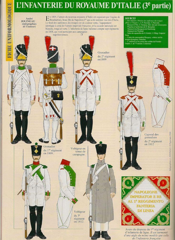 fanteria di linea 1809-1812