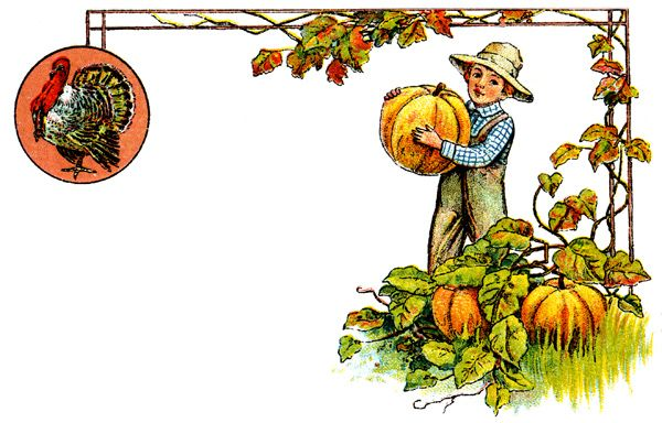 Thanksgiving Clip Art for Free - Image 4: