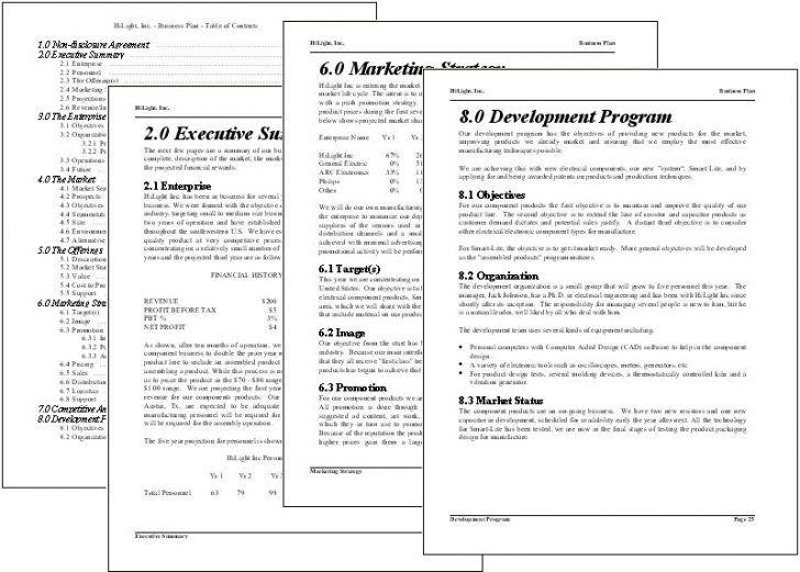 Las  Mejores Ideas Sobre Business Plan Software En