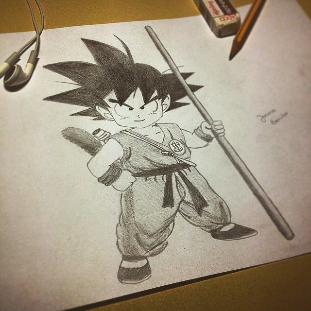 Desenho a pedido do Ivo... ☺️✏️ #songoku#draw#drawing#childhood#dragonball#songokudraw#nanadrawcollection#collection#collector#childrentime#byme#black#blackandwhite#pencil#friend
