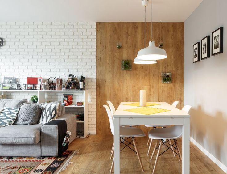 Apartament de bloc în București actual și funcțional amenajat de arh. Oana Boghiu