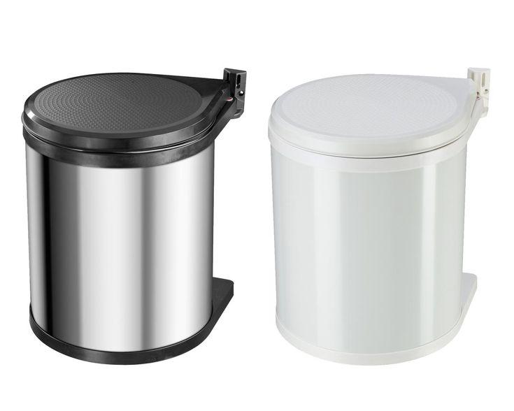 Hailo Compact-Box 15 Einbau Abfallsammler 15L Mülleimer Unterschrank Drehtür NEU   markenbaumarkt24