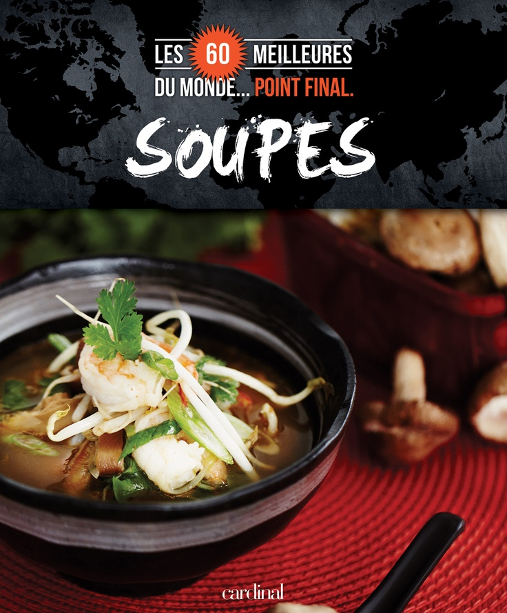 Dans ce livre, vous trouverez : -des soupes réconfortantes et rafraîchissantes : la crème de champignons, le gaspacho, la soupe à l'oignon… -des grands classiques de partout dans le monde : la tonkinoise, le borsch, la minestrone… -des soupes à servir en entrée et des soupes-repas : la soupe aux tortillas mexicaine, la crème oignon & ail, la soupe pétoncles & topinambours…