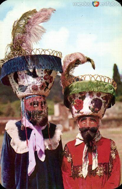 Danzantes Chinelos del Estado de Morelos