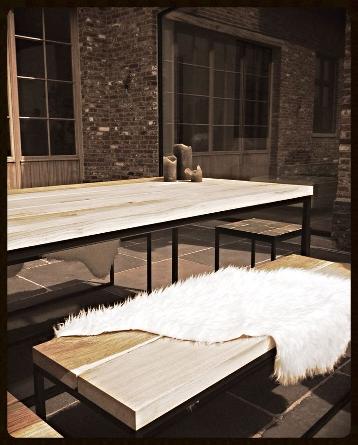 Outdoor Livin' Collection Steel N Wood