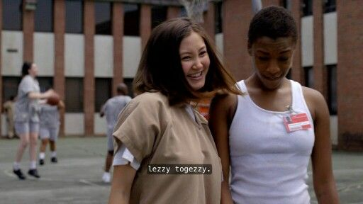 Brooke Soso and Poussey Washington