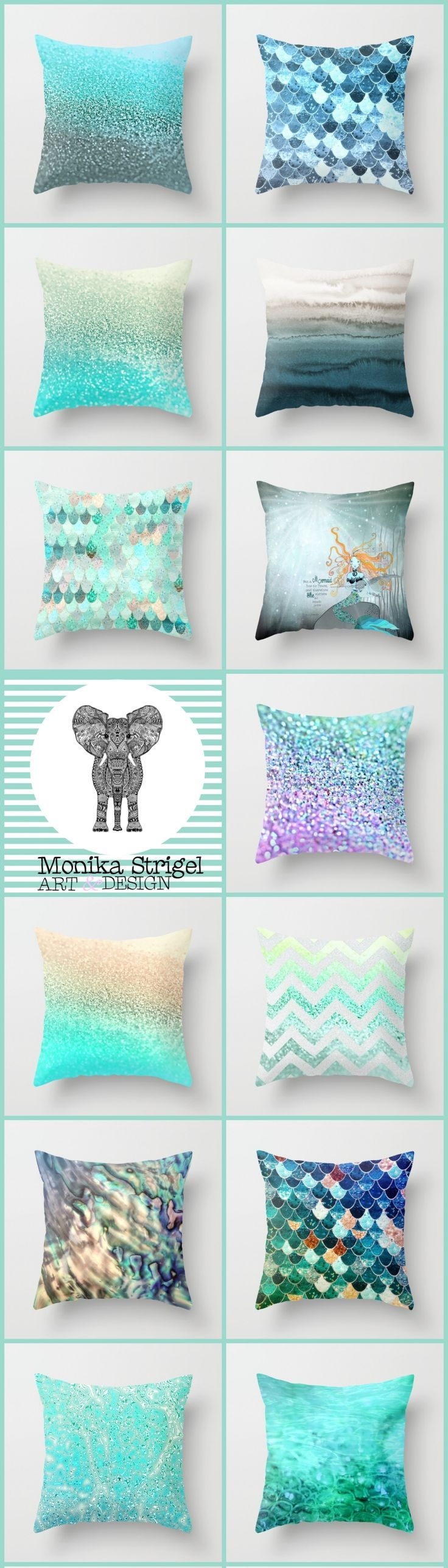 Add some mermaid magic to your home or apartment. Mermaids are one of the top summer trends of 2016.