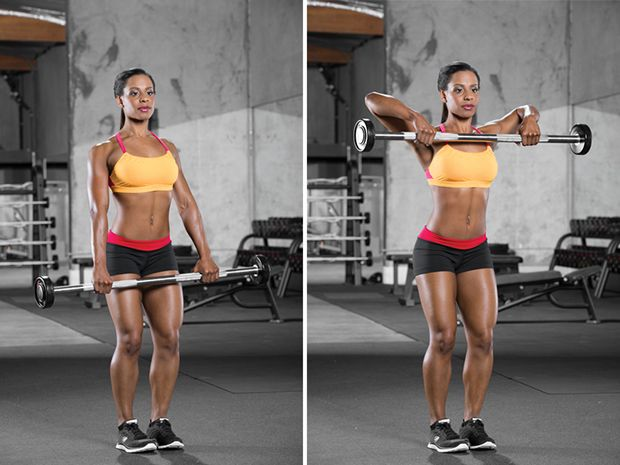 Best ideas about upright barbell row on pinterest
