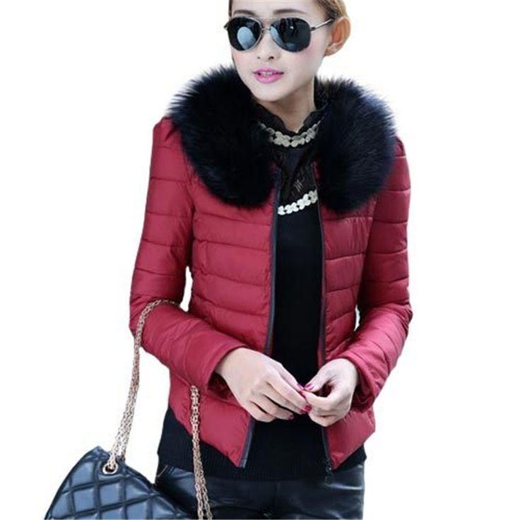 $24.99 (Buy here: https://alitems.com/g/1e8d114494ebda23ff8b16525dc3e8/?i=5&ulp=https%3A%2F%2Fwww.aliexpress.com%2Fitem%2FEuropean-Fashion-Style-Women-Down-Coat-2015-New-Arrival-Solid-Faux-Fur-Collar-Slim-Parka-Winter%2F32464718169.html ) European Fashion Style Women Down Coat 2015 New Arrival Solid Faux Fur Collar Slim Parka Winter Jacket  Casual Outerwear CT039 for just $24.99