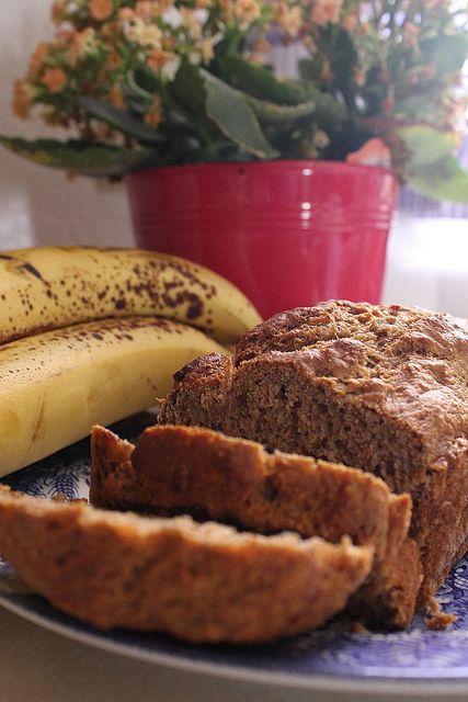Healthy {low fat} Banana Bread