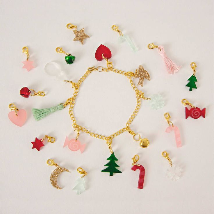 Nutcracker Advent Calendar With Charm Bracelet