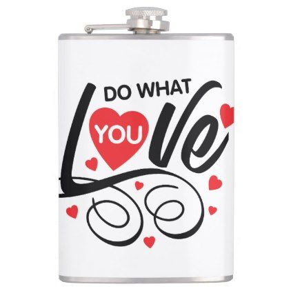 Red Heart Love Romantic Quote Hip Flask Valentines Day Gifts Gift Beauteous Valentines Day Quote Images