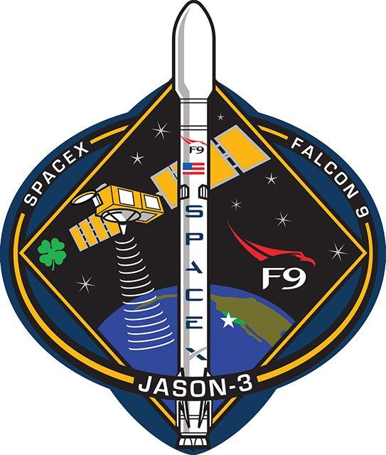 Logo Oficial da Missão, o satélite foi feito em parceira entre dois institutos americanos.