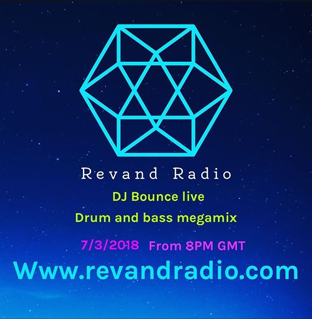 #livestream of DJ Bounce with a #dnb #mixblock from 8PM GMT #london #internet #radio #drumandbass